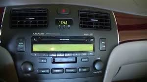 lexus sedan 2005 2004 lexus es330 radio replacement with aftermarket double din