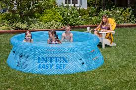 Intex Swimming Pool Pumps And Filters How To Put Up An Intex Above Ground Pool Ebay