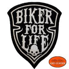 biker jacket vest skull biker for life patch biker jacket vest amt custom shop