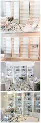 Bookshelves Glass Doors by We Were Looking For Mid Height Bookcases With Glass Doors For Our