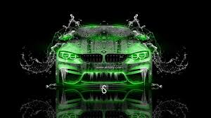 green bmw m4 bmw m4 water car 2014 el tony