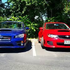 subaru legacy red red vs blue