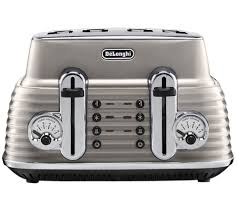 Silver Toaster And Kettle Set Buy Delonghi Scultura Ctz4003bg 4 Slice Toaster Champagne Free