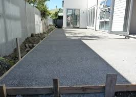 Exposed Aggregate Patio Pictures by Cost Of Concrete Patio Nz