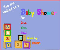 sample baby shower invitation for a boy baby shower diy
