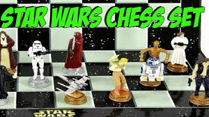 star wars chess set chess set for crazy star wars fans for sale