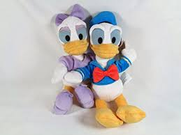 donald duck u0026 daisy duck plush toy characer bundle u2013 9