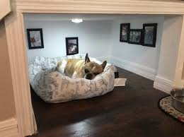 Dog House Interior French Bulldog Owner Gets Innovative And Creates A Posh Dog House