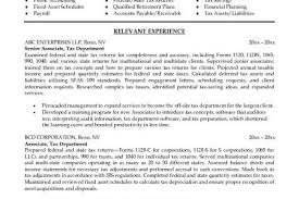 Auditor Sample Resume by Free Senior Accountant Resume Example Senior Accountant Resume