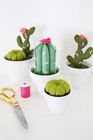 cactus pincushion diy u2013 a beautiful mess
