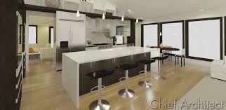 3 five 12 kitchen waterfall island youtube