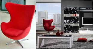 the egg chair an iconic example of danish modern style walls