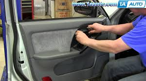 2001 hyundai accent parts how to remove install inside door panel hyundai elantra 2001 06