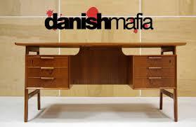 danish modern secretary desk home design engaging danish modern teak desk mid century danish