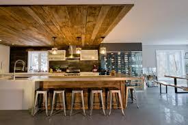 cuisine grange chaleureux bois de grange danielle bonneau aménagement