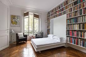 Folding Wall Bed Modern Bookshelf Wall With Folding Murphy Bed Bookshelf Ideas