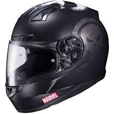 gmax motocross helmets hjc cl 17 marvel punisher mens street bike dot riding motorcycle
