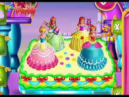 princesses cake cooking cooking games baby games for kid youtube