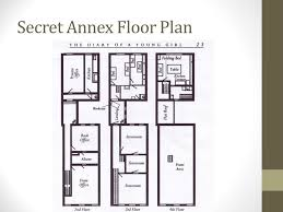 floor plan of the secret annex the diary of anne frank pre reading understanding your person 1