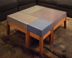 Modular Coffee Table Concrete Modular Coffee Table From Custom Made Furniture