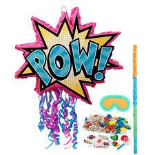 party city halloween pinatas superhero pinata kit birthdayexpress com