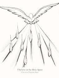 descent holy spirit pentecost sunday catholic
