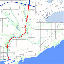 Valley Fair Map Don Valley Parkway Wikipedia