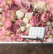 pink roses wall mural photo wallpaper wedding backdrop large pink roses wall mural photo wallpaper wedding backdrop large 1500mm x 1150mm amazon co uk kitchen home