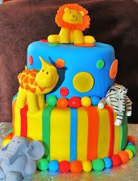animal jungle safari theme kids birthday party cakes cupcakes