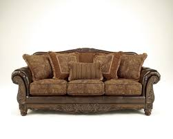 Antique Leather Sofas Fresco Durablend Traditional Antique Fabric Sofa Living Rooms