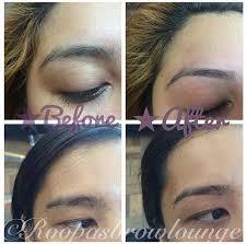 henna tattoo u0026 threading shaping eyebrows roopa u0027s brow lounge
