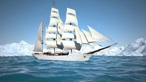 sailing ship animation youtube