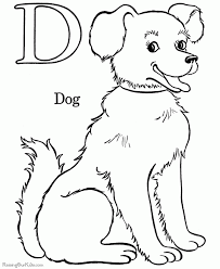 dog coloring pages free and printable throughout coloring page