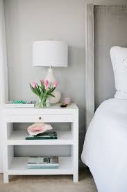 Designer Nightstands - interior designer jennifer wagner schmidt bedside table styling