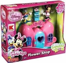 minnie s bowtique disney minnie mouse bow tique flower shop toys