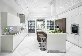 couleur cuisine blanche cuisines blanches de luxe et de couleur blanc ilot de cuisine blanc