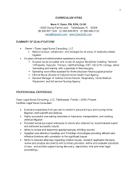 Best Legal Resume by Sample Resume Nurse Consultant Augustais