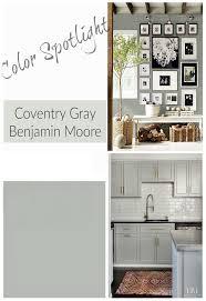 benjamin moore coventry gray color spotlight on remodelaholic com