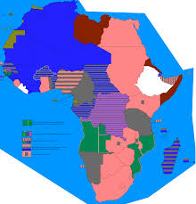 Africa Map 1914 by Different Africa Alternate History Discussion