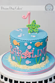 under the sea birthday cake bearkery bakery