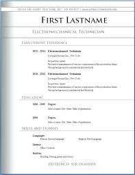 sample resume in word format download elementary teacher