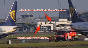 a pair of ryanair boeing 737 collided at dublin airport business