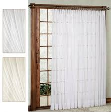 door curtain panel mykonos striped eyelet sheer voile ring top