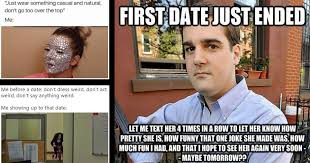 First Date Meme - 35 awkwardly funny memes about first date shenanigans