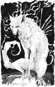 wolves sketch