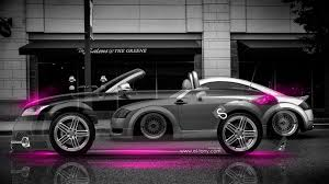 pink audi audi tt roadster crystal city car 2014 el tony
