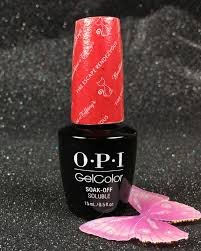 gel color by opi fire escape rendezvous hp h09 holiday 2016