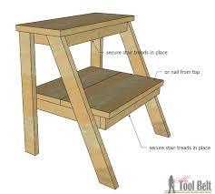 child bench plans kid s step stool her tool belt