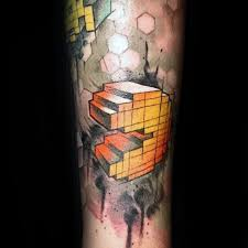 30 pacman tattoo designs for men arcade game ink ideas