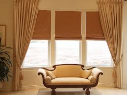 bow window treatments living room best bow window treatments